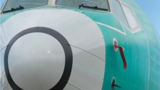 737 Max 8 jet