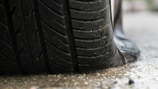 Flat tyre generic