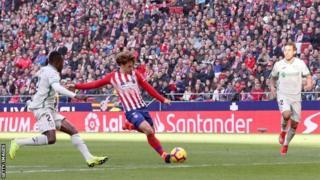 Griezmann amaze gutsindira Atletico Madrid ibitego 16 muri uyu mwaka w'imikino
