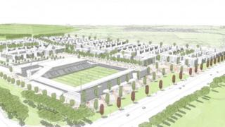 Plan for new St Albans City stadium