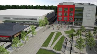 Artist's impression of the proposed college
