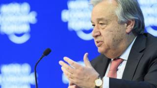 Antonio Guterres avuga ko kwiyumanganya agateka ka muntu ari kimwe mu bituma gahonyangwa