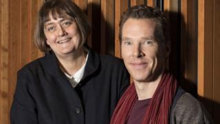Sarah Frankcom and Benedict Cumberbatch