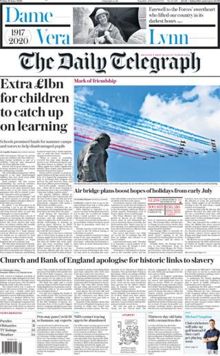 Telegraph 19 June