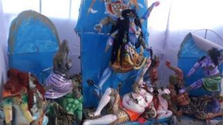 নাসিরনগরে এমন বহু দেব-দেবীর মূর্তি ভাংচুরের শিকার হয়েছে ওই হামলায়।