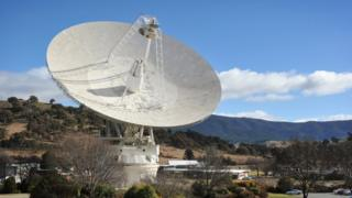 A dish at the Canberra Deep Space Communication Station