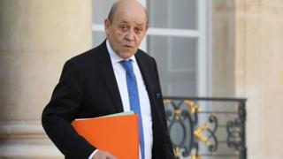 Fransız Dışişleri Bakanı Le Drian