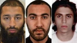 Khuram Butt, Rachid Radouane and Youssef Zaghba carried out the London Bridge attacks