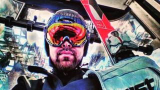 Tongan skier Kasete Naufahu Skeen