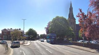 Regent Street in Wrexham