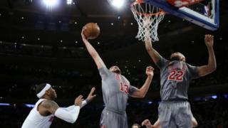 La NBA veut promouvoir le basketball en Chine.
