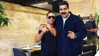 Nusret ve Nicolas Maduro