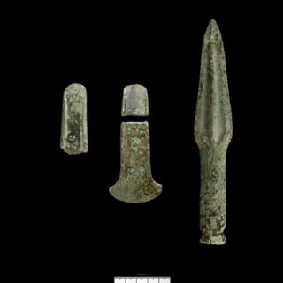 Early Bronze Age treasure found at Wenvoe