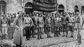 1918年俄國內戰時期,這支由華人組成紅軍部隊被派往前線。