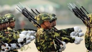 سربازان میانمار