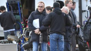 Danny Boyle filming in Suffolk