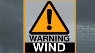 An amber, be prepared for disruption, warning for wind comes into force from 03:00 GMT on Friday until 10:00 GMT.