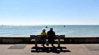SOUTHEND ON SEA, ENGLAND - APRIL 22