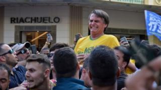 Jair Bolsonaro dan takarar zaben shugaban kasa a Brazil