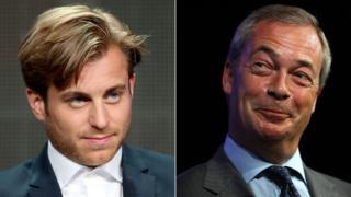Kevin Bishop and Nigel Farage