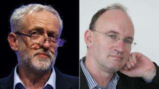 Jeremy Corbyn and Neale Coleman