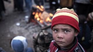 Anak-anak, Irak,