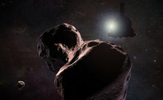 В представлении художников НАСА Ultima Thule выглядит примерно так