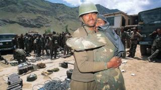 કારગીલ યુદ્ધમાં ભારતીય સૈનિકો