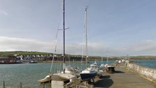 Drummore harbour