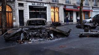 تظاهرات فرانسه