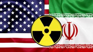 پرچم ایران و آمریکا
