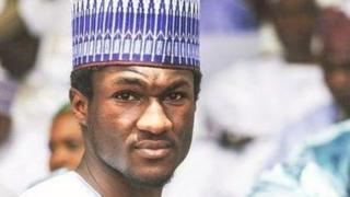 Aworan Yusuf Buhari saaju ijamba alupupu to fii larapa