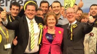 Mark McDonald, Maureen Watt and Kevin Stewart