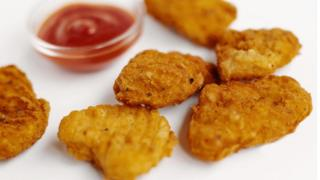 Chicken nuggets (library picture)