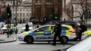 Police responding to Westminster attack