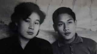 Ri Yong-hui and Pham Ngoc Canh when they were young