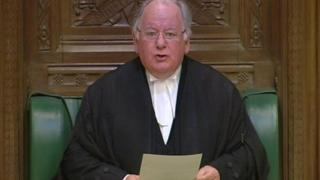Commons Speaker Michael Martin in the House of Commons in 2009