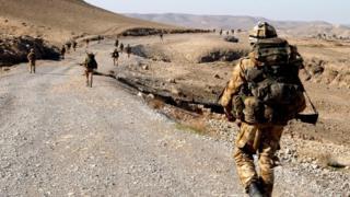 Kajaki area of Helmand province, Afghanistan