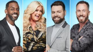 Richard Blackwood, Gemma Collins, Brian McFadden, James Jordan