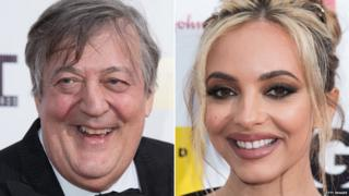 Stephen Fry, Jade Thirlwall