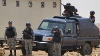 Jordanian security forces personnel, file image