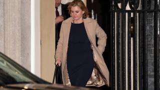Justine Greening resigned after being offered work and pensions secretary
