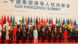Líderes do G20