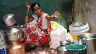 انڈیا میں پانی کی قلت