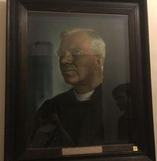 The portrait of the late Bishop George Bell