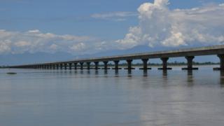 The dhola sadiya bridge