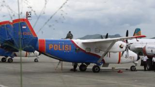 Pesawat jenis Sky Truck milik polisi