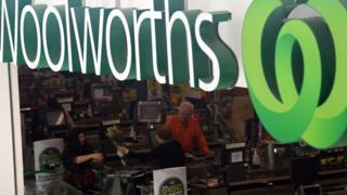Woolies store oz