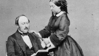 Prince Albert and Queen Victoria