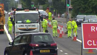 Lines being drawn for east Belfast bus lanes